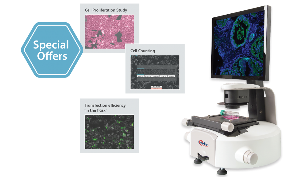 Incellis cell imager special offers available
